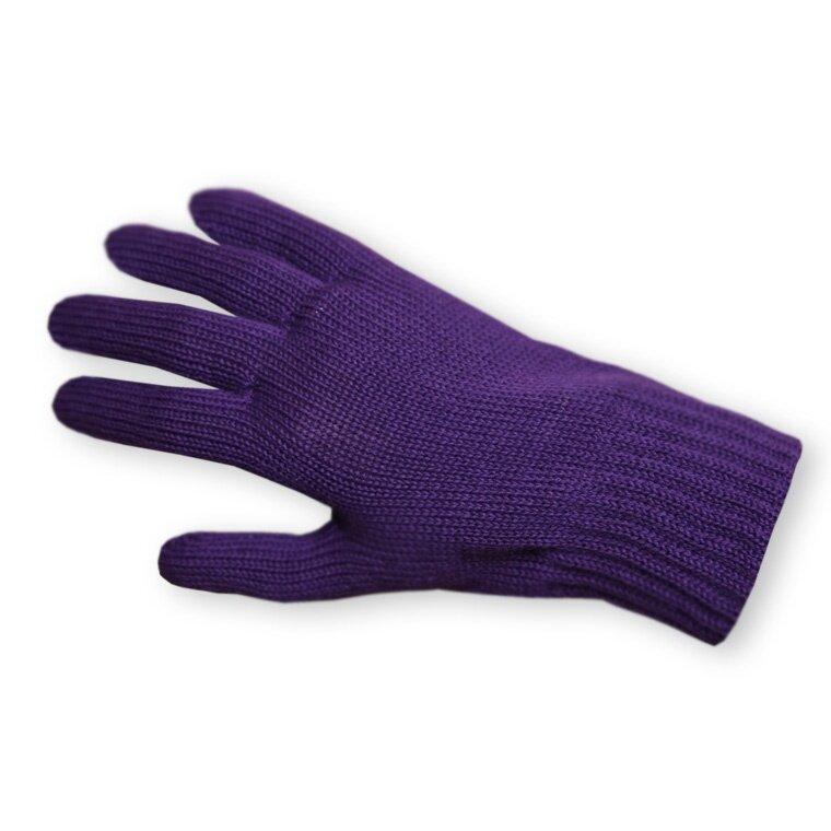 4b51ab88b1e Pletené prstové rukavice merino KAMA R01 Bílá - Ovečkárna.cz
