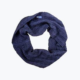 Dětský pletený Merino nákrčník SB12 Tmavě modrá 0db785c273