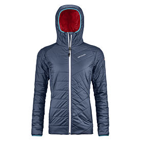 Dámská merino bunda PIZ BERNINA JACKET ORTOVOX  Night Blue