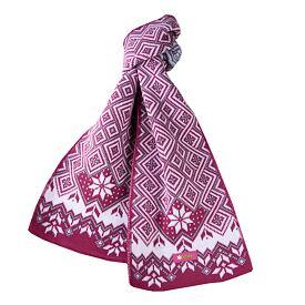 Dětská pletená šála merino KAMA SB07 Růžová 9016f04af4