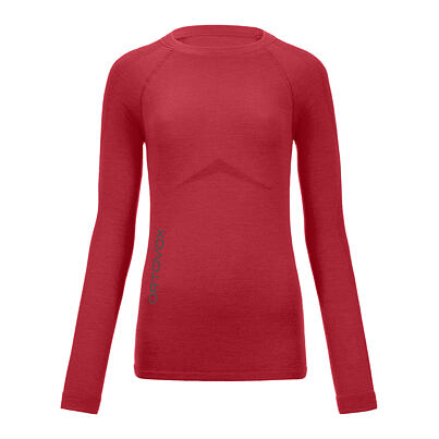 Dámské merino triko 230 Competition long sleeve ORTOVOX    Hot Coral